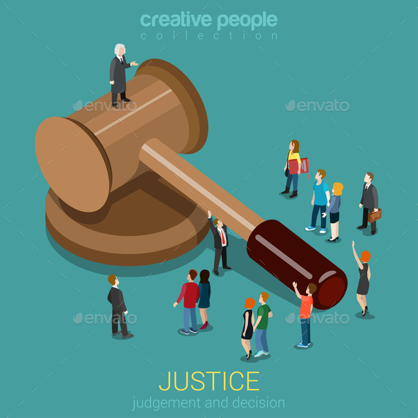 GraphicRiver Justice and Law 10957349