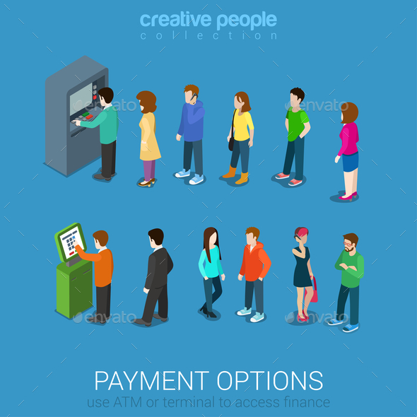 GraphicRiver Waiting in Line 10957355