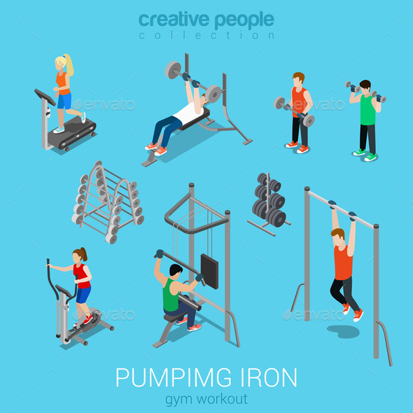 GraphicRiver Gym 10957357