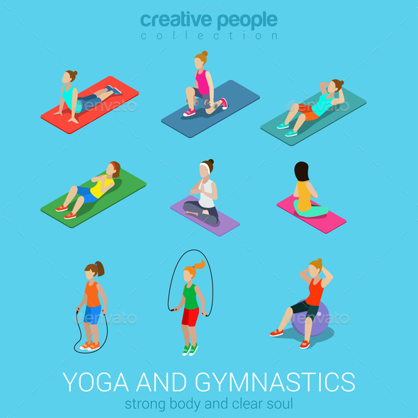 GraphicRiver Yoga 10957370