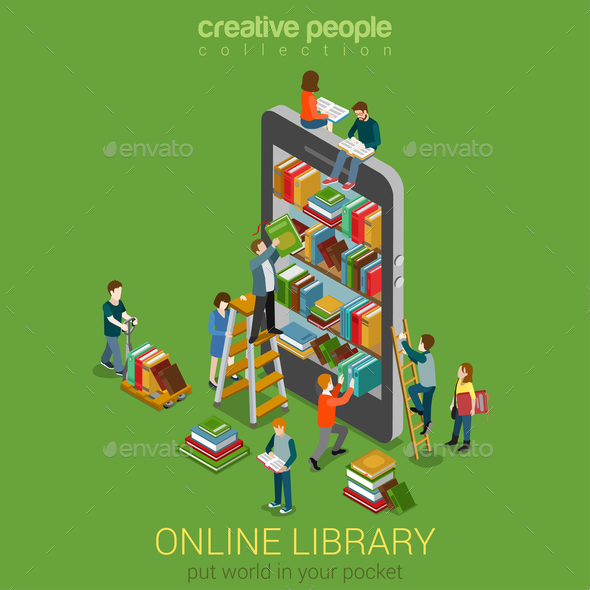 GraphicRiver Online Library 10957377