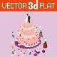 Wedding Cake  - GraphicRiver Item for Sale