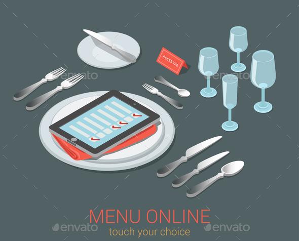 GraphicRiver Online Menu 10957384