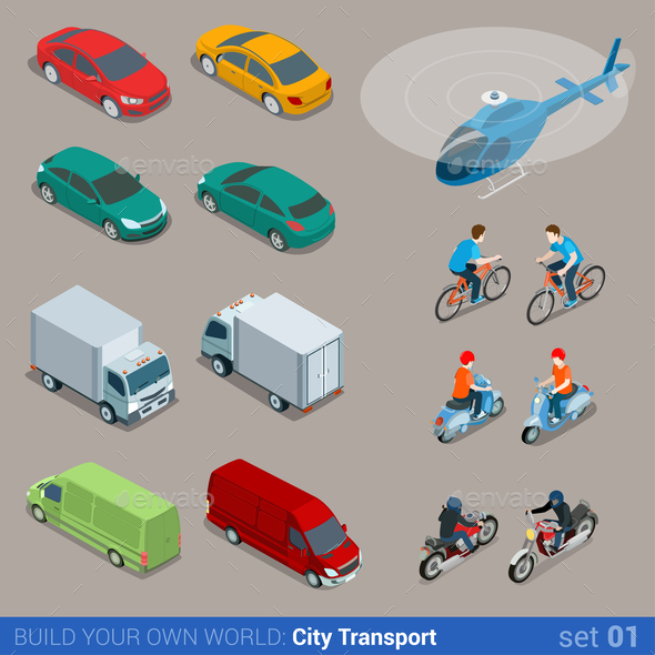 GraphicRiver City Transport 10957386