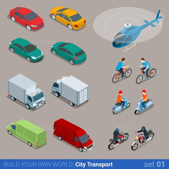 GraphicRiver City Transport 10957386