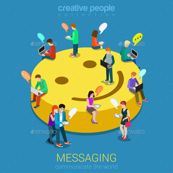 GraphicRiver Chat Messaging 10957388