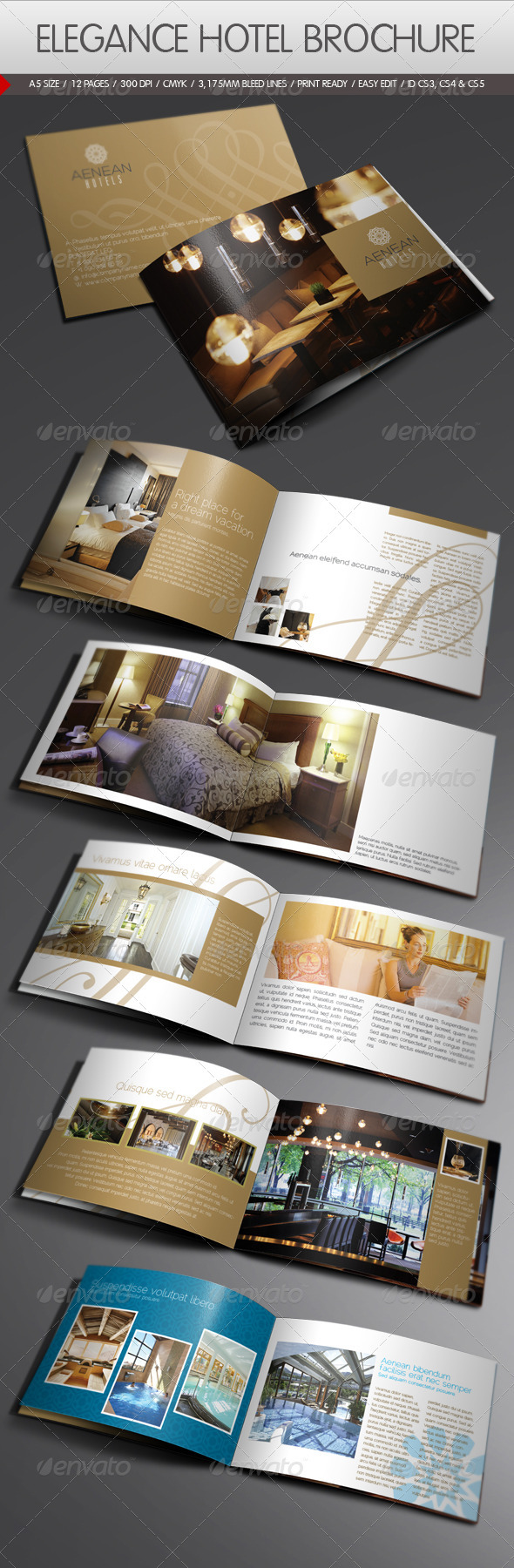 Hotel brochure templates free download for Hotel brochure templates
