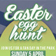 Easter Egg Hunt Template - GraphicRiver Item for Sale