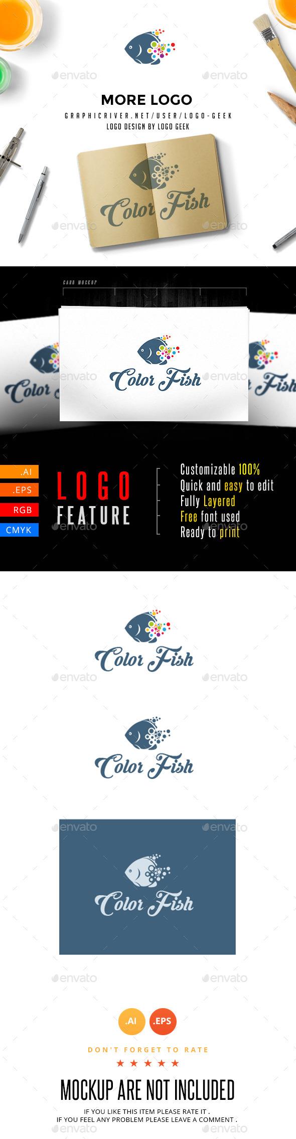 GraphicRiver Color Fish 10958257