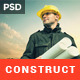 Construct - Building & Construction PSD Template
