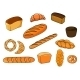 Bread and Pastry Cartoons  - GraphicRiver Item for Sale