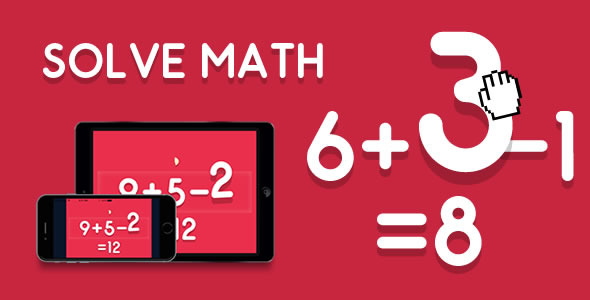 CodeCanyon Solve Math HTML5 Game 10958376