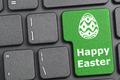 Happy easter key on keyboard - PhotoDune Item for Sale
