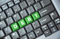 Debt key on keyboard - PhotoDune Item for Sale