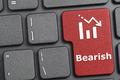 Bearish key on keyboard - PhotoDune Item for Sale