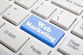 Web marketing key on keyboard - PhotoDune Item for Sale