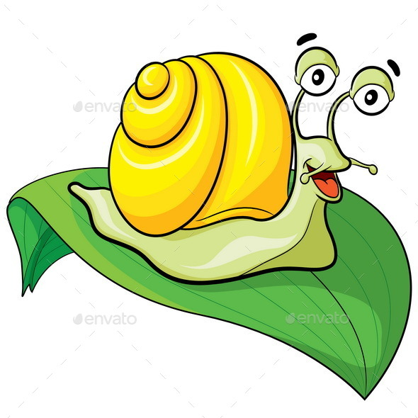 GraphicRiver Snail Cartoon 10958651