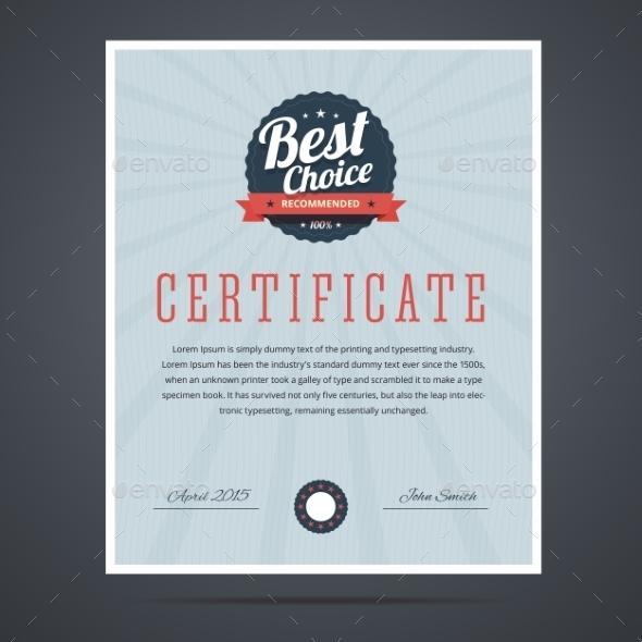 GraphicRiver Certificate 10958666