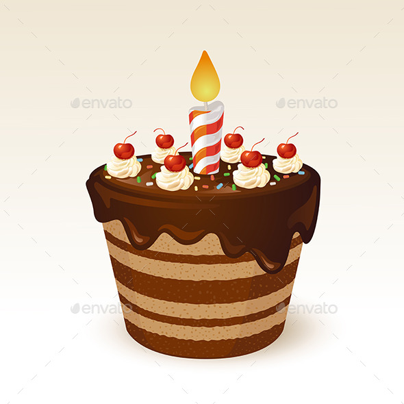 GraphicRiver Chocolate Cake 10958687