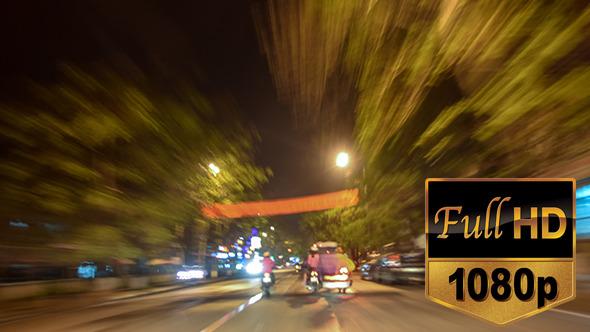 Roadtrip at Night