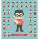 Set of Businessman Characters - GraphicRiver Item for Sale