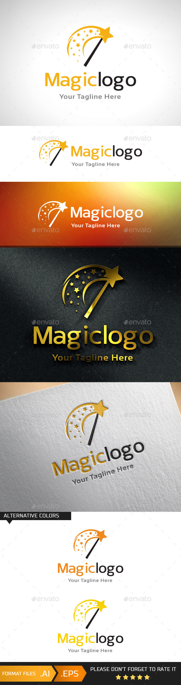 GraphicRiver Magic Logo Template 10960380