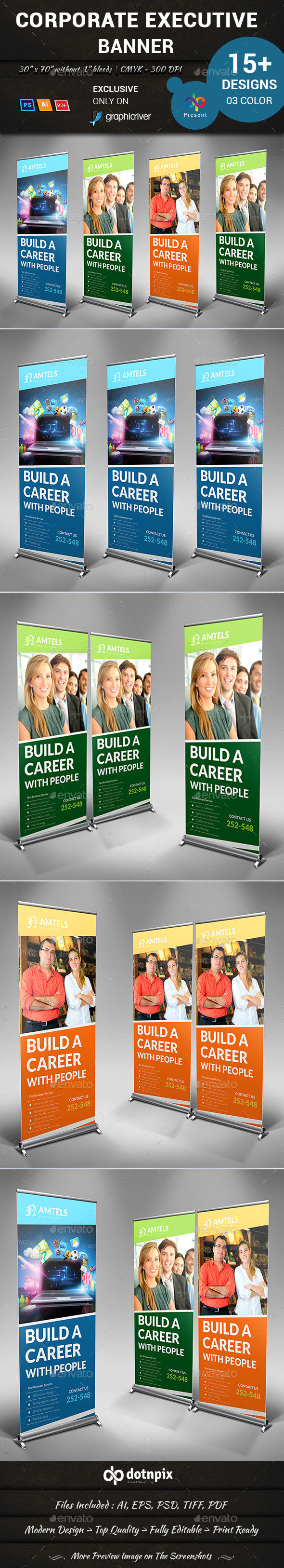 GraphicRiver Corporate Executive Banner 10960410