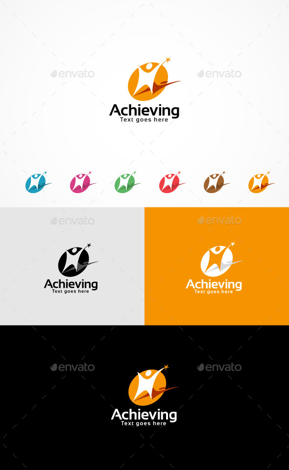 GraphicRiver Achieving Logo 10904253