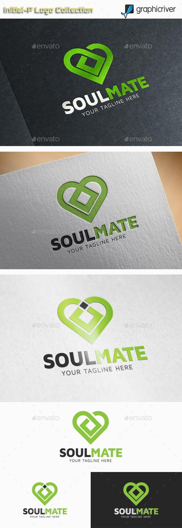 GraphicRiver Soulmate Logo 10961149