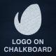 Logo On Chalkboard - VideoHive Item for Sale