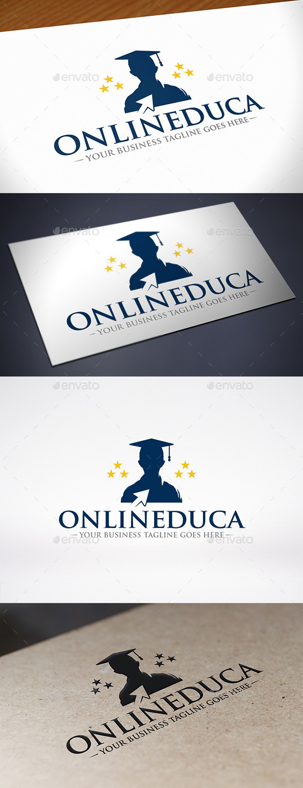 GraphicRiver Online Education Click Logo Template 10961228