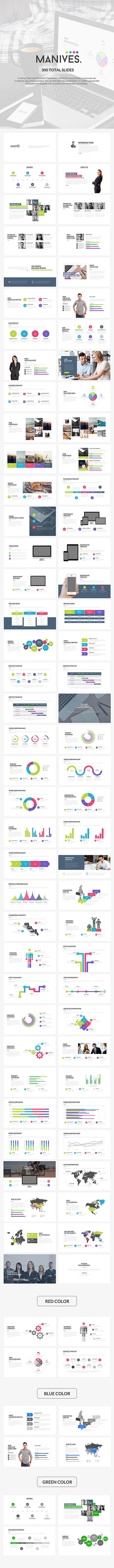GraphicRiver Manives Powerpoint Template 10961294