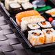 traditional sushi box - PhotoDune Item for Sale