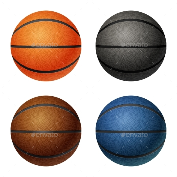 GraphicRiver Basketballs 10961651