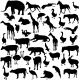 Animal Silhouettes  - GraphicRiver Item for Sale