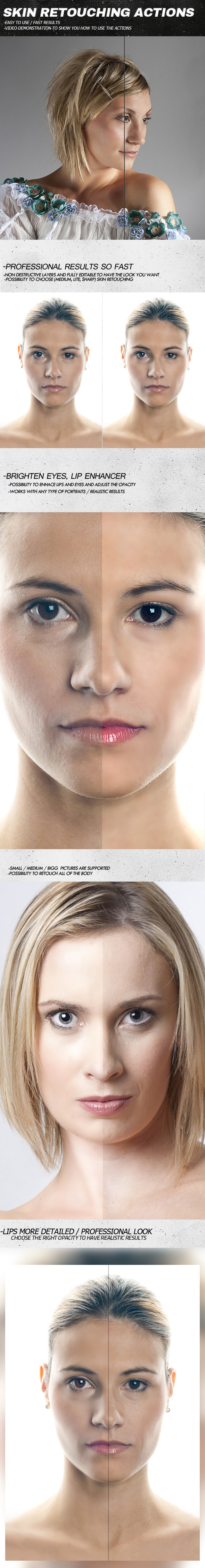 GraphicRiver Skin Retouching Actions 10961874