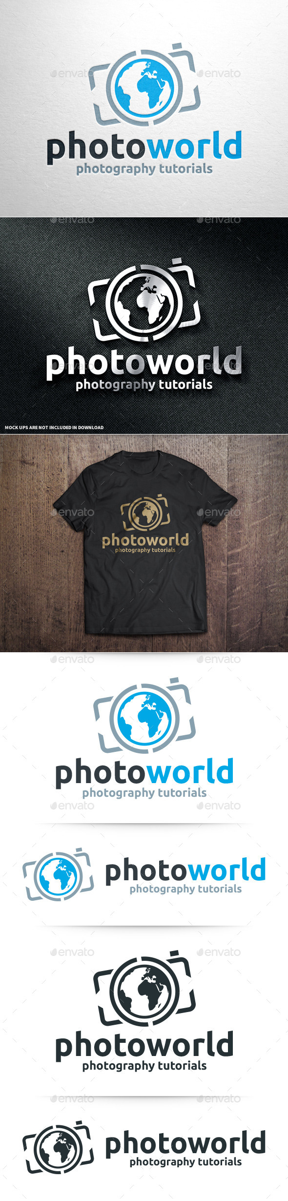 GraphicRiver Photo World Logo Template 10961884