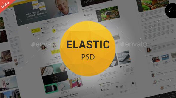 GraphicRiver Elastic Business Marketing Email Template 10961887