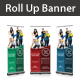 Cleaning Services Rollup Banners - GraphicRiver Item for Sale