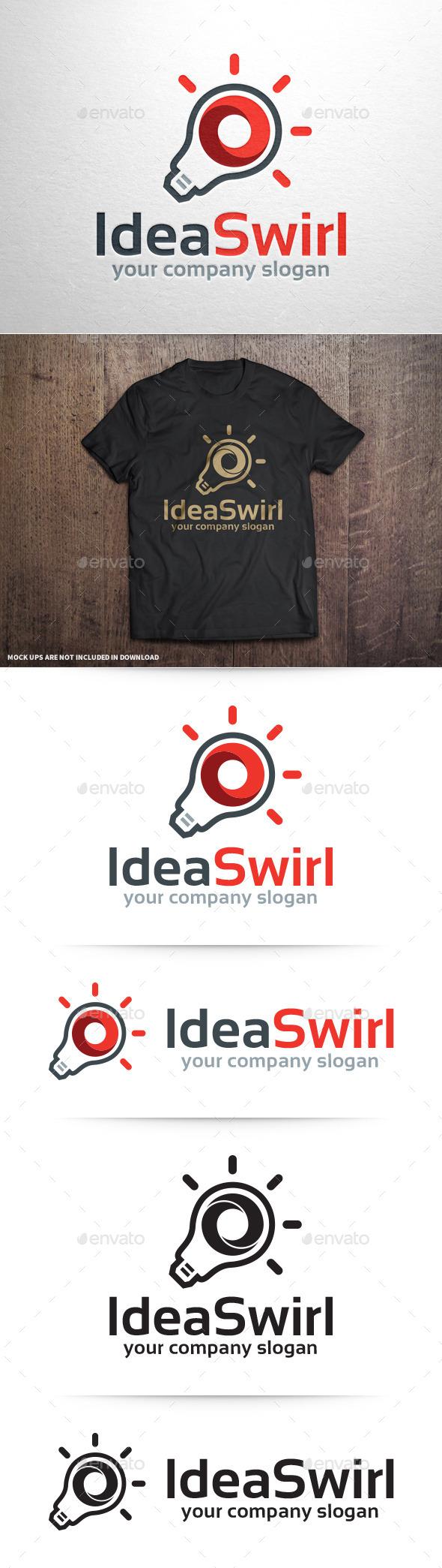 GraphicRiver Ideas Swirl Logo Template 10962038