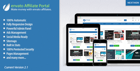 envato Affiliate Portal - CodeCanyon Item for Sale