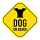 dog on board sign - PhotoDune Item for Sale