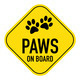 paws on board sign - PhotoDune Item for Sale