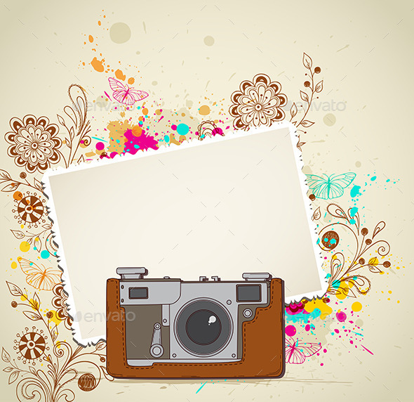GraphicRiver Vintage Camera 10962230