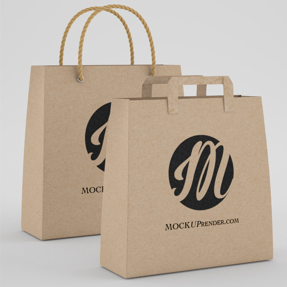 Shopping and grocery bag  - 3DOcean Item for Sale