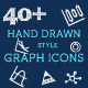Hand Drawn Graph Icons - GraphicRiver Item for Sale