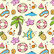Summer Seamless Pattern - GraphicRiver Item for Sale
