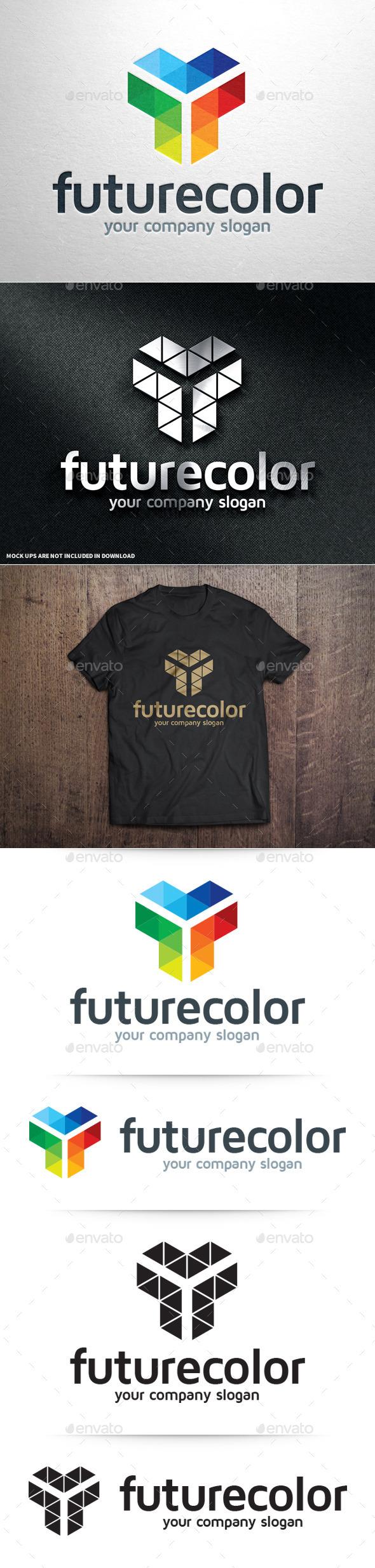 GraphicRiver Future Color Logo Template 10963336