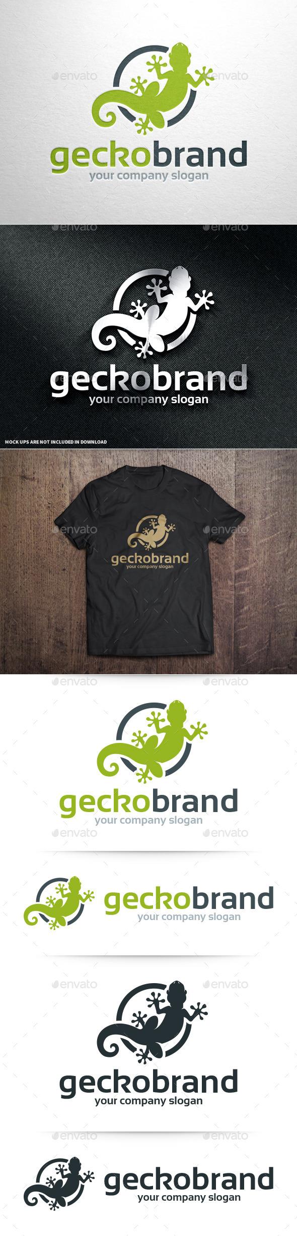 GraphicRiver Gecko Brand Logo Template 10963637