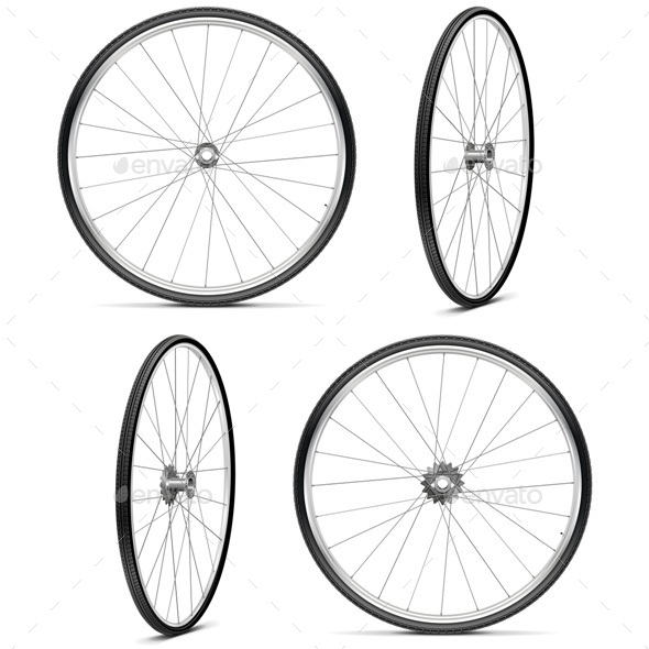 GraphicRiver Bicycle Wheels 10963641